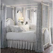 poster bed canopy curtains blue white canopy curtain with floral pattern style also four poster