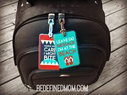themed luggage tags diy printable luggage tags