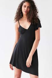 asymmetrical dress silence noise two faced asymmetrical dress outfitters