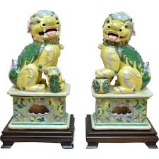 yellow foo dogs13th birthday ideas 204 best fu dogs images on foo dog asian and lion