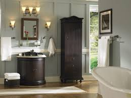 inspiring bathroom lighting sconces high cabinet beautiful wood