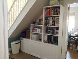 Vaisselier Blanc Ikea by Shelving Unit Under The Stairs Ikea Besta Entry Pinterest