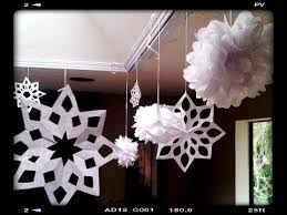 how to make paper snowflakes easy tutorial
