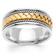 two tone mens wedding band two tone wedding bands mens womens two tone gold rings goldenmine
