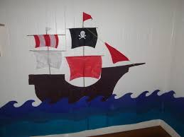 Pirate Ship Bedroom by Pirate Ship Bedroom Wall Decoration Pirate Ship Birthday Card