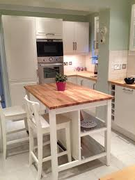 Ikea Kitchen Island With Seating Butcher Block Island Perfect But With Stools And Seating On Both