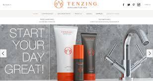 launching a luxury men u0027s skincare website tenzing skincare