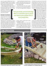 backyard bridge plans u2022 woodarchivist