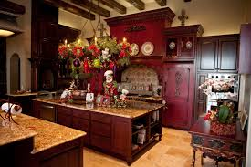 Kitchen Island Red 5 Cheap But Lovely Christmas Decorating Ideas For Kitchen Island