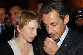 Laurence Parisot et Nicolas Sarkozy
