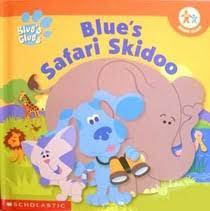 blues safari skidoo blues clues series kitty fross 0717266257