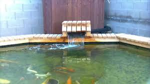Backyard Fish Pond Kits Pond Waterfalls Kit And Cheap Youtube