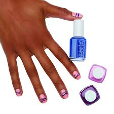 arm candy spring stripes nail art style nails magazine