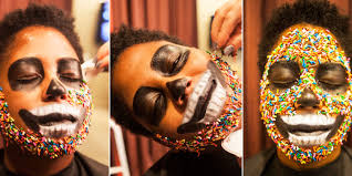 Good Halloween Face Makeup by Easy Scary Halloween Makeup