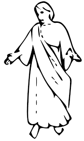 small christmas angel clipart black white free small