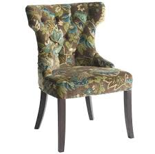Cheap Occasional Chairs Design Ideas Furniture Chic Tufted Cheap Accent Chair With Green Floral Design