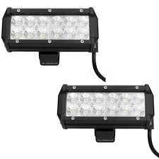 Led Work Light Bar by 7 Inch Led Work Light Bar 36w Flood Beam Off Road Truck Boat Jeep