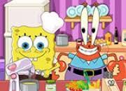 jeux de bob l 駱onge en cuisine jeu bob l éponge dans la cuisine