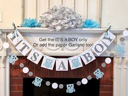 it s a boy decorations woodland owl baby shower decorations its a boy baby shower