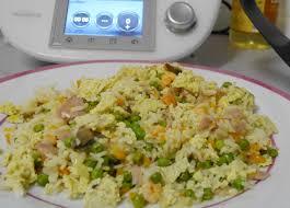 recette de cuisine thermomix recette thermomix riz cantonnais