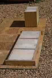 build a concrete bench