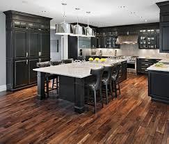 Hardwood Floor Kitchen Impressive Attractive Hardwood Floors In Kitchen Wood Floors In