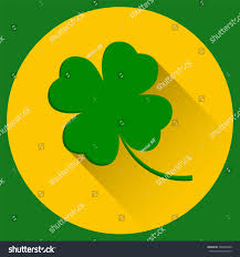 four leaf clover st patricks day stock vector 590288540 shutterstock
