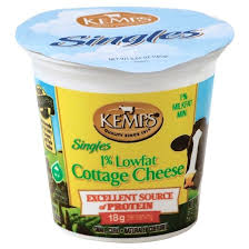Cottage Cheese Low Fat by Kemps 1 Lowfat Cottage Cheese Singles 5 64oz Target