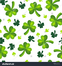 st patricks day clover trefoil green stock illustration 398240545