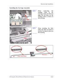 designjet 800ps service manual pages 251 286 text version