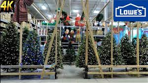 at lowe s all trees artificial and fresh