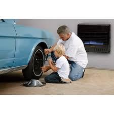 procom dual fuel vent free blue flame garage heater 30 000 btu