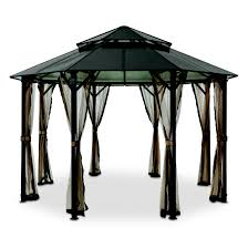 walmart patio gazebo gazebo gazebo kits metal gazebo kit 10x10 hardtop gazebo