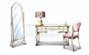 Interior Design Sketches Painted Indoor Home 7639 Indretnings Tegninger Pinterest