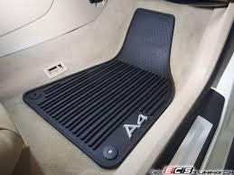 genuine audi a4 car mats genuine volkswagen audi 8e1061450041 all weather rubber floor