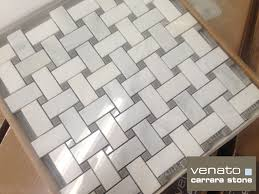 Marble Tile Bathroom Floor Interior Decorate Your Interior With Cool Basket Weave Tile Idea