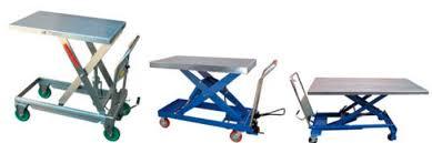 scissor lift table hydraulic cart series vestil