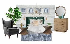 boho mod bedroom design board seeking lavendar lane