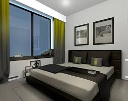 simple bed room decorating idea one 4 total photographs modern