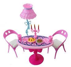 barbie dining room set bestim incuk 1 set vintage table chairs for barbie dolls furniture