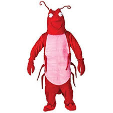 lobster costume larry the lobster mascot costume one size