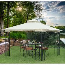 10x10 Canopy Tent Walmart by Outdoor Gazebo Canopy Replacement Sunjoy Gazebo Gazebos Walmart
