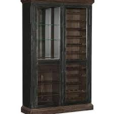 Distressed Wood Bar Cabinet Wood Lattice Door Bar Cabinet