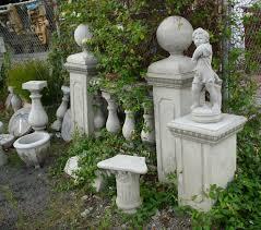impressive on concrete garden decor outdoor garden ornaments ludetz