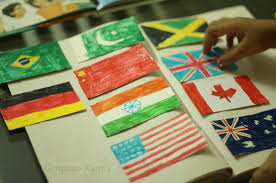 learning why countries fly flags independence day project