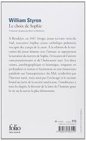 couverture de livre vierge amazon fr le choix de sophie william styron maurice rambaud