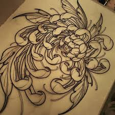 the 25 best chrysanthemum tattoo ideas on pinterest november
