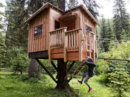 Zip Line For Backyard by Tv Show Piques Interest In Missoula Treehouse Zipline Builder U0027s
