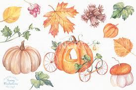 halloween food clip art happy halloween watercolor set by irina diasli thehungryjpeg com