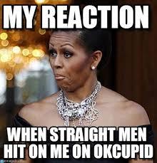 Michelle Obama Meme - my reaction michelle obama meme on memegen